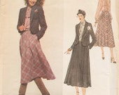 Vogue 1964 / Vintage Designer Sewing Pattern By Don Sayers / Skirt Blouse Jacket Suit / Size 12 Bust 34