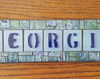 "Wall Mosaic ""Custom"" Georgia"
