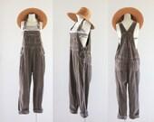 90's corduroy overalls