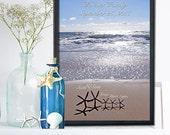 ADOPTION GIFT- Adoption wall art- Gotcha Day - Personalized Adoption Gift- Never Alone Gift - New Gift - Adoption Announcement-Never Alone