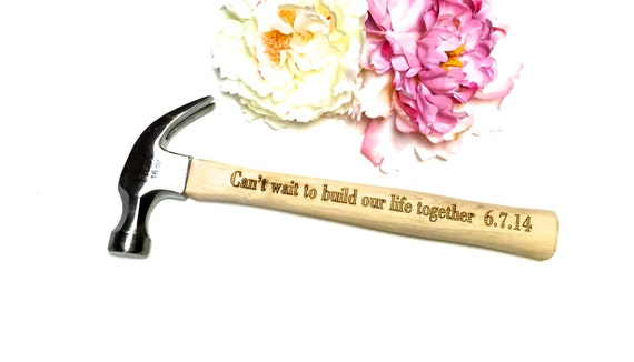 Hammer gift for him, Engagement gift for him, New father gift, Wedding ...