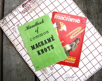 Macrame Instruction Books - Basic Macrame Knots