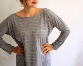 Silver Arrow Merino Wool Top