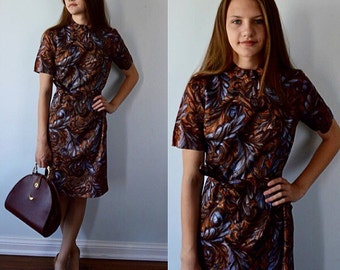 Vintage Casual Dress, 1960s Dress, Day Dress, Giselle, Giselle New York, 1960s Giselle Dress