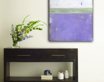 Lavender 24x36 Original Painting Acrylic on Canvas Art