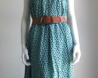 70s 80s vtg long skirt,  maxi dress