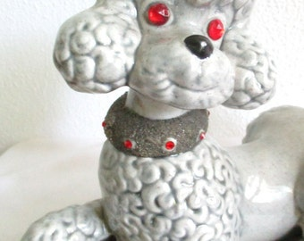 Poodle Figurines Etsy