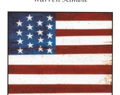Counted Cross Stitch, Cross Stitch Patterns, Colonial Flag, Primitive Decor, Rustic Decor, Warren Kimble, PATTERN ONLY
