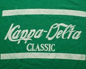 Kappa-Delta Classic T-Shirt, Coca-Cola Spoof, College Girls Fraternity, Vintage 80s