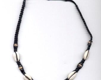 Hemp Necklace BlackShell