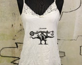 I Promise Graphic Tank / Lace Cami / Dragon Print