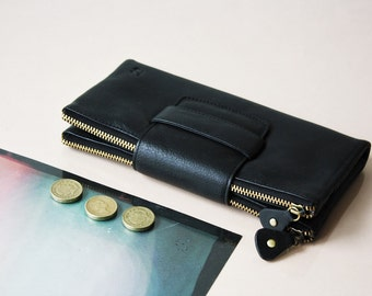Alandria Large Leather Wallet and Handbag