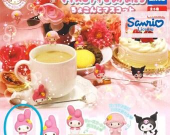 My Melody Figurine/Kuromi Figurine/Sweet Piano Figurine/Takara Tomy Sanrio Gashapon/Takara Tomy Kuromi Gashapon/Sanrio Figurine