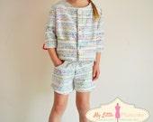 Girl Sewing Pattern - Jacket - Capsule Wardrobe PDF Pattern