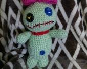 Crochet Scrump doll Lilo ans Stitch READY TO SHIP