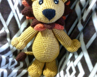 Crochet lion ANY colors you want