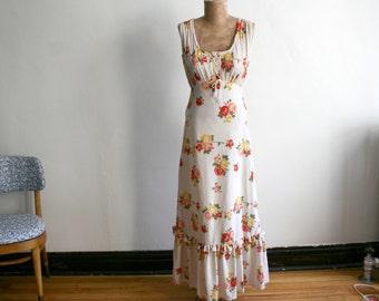 Mexican Rose Prairie Dress