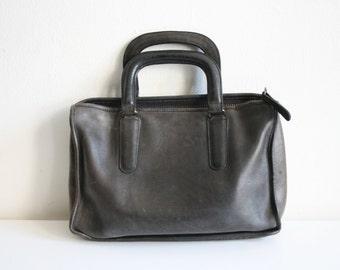 Bonnie Cashin Gray Rustic Handbag