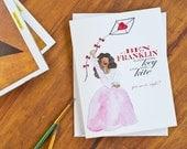 Hamilton Greeting Card - Angelica Schuyler Satisfied - Anniversary Card - Wedding Card - Love - Valentine's Day Card - Blank Greeting Card