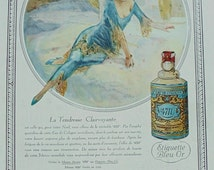Genuine 1930's French Advert - '4711' Perfume Ad (Lutz Ehrenberger)
