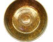 Small Rustic Glazed Ceramic Bowl Earthenware