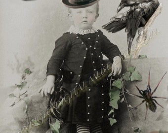 The Warlock Instant Download Vintage Photograph