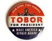 Button pins, Pinback, Robot Art, Killer Robot, Buttons, Tobor, Alternate Histories, Geekery