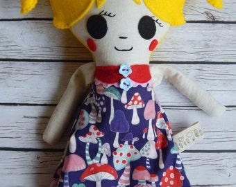 Plush Rag Doll Cora