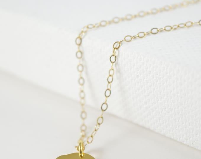 Elephant Necklace, Gold Baby Elephant, Symbolic Charm, Wisdom, Layering Necklace, Gift, Gold Elephant Necklace, Elephant Necklace
