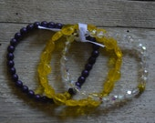 Go Dawgs Anniversary Bracelet TRIO - Proceeds Benefit Cancer Research