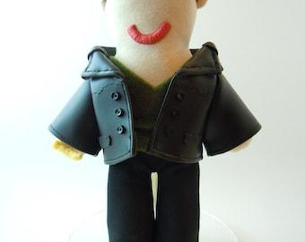 Doctor Who Ninth Doctor Plush Doll Green Shirt