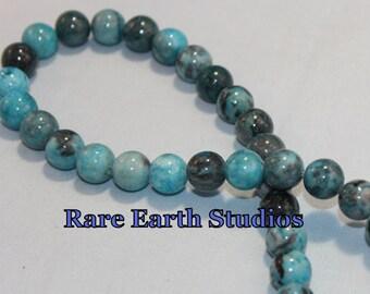 Blue Amazonite Beads 10mm +/- 60216014