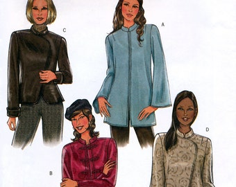 Butterick B4294 Sewing Pattern for Misses' Jacket - Uncut - Size 8, 10, 12, 14