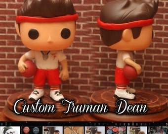 Supernatural Truman Bomber Dean Winchester - Custom Funko pop toy