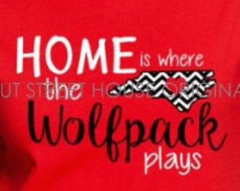 ORIGINAL DESIGN, HOme is where the football field is.  Football mom t-shirt, football mom shirt, sister, NOT Home is where the field is