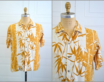 1960s Hawaiian Imperial Bamboo Shirt