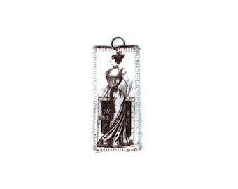 Victorian Woman Pendant