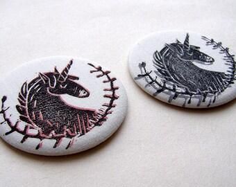 Unicorn Pocket Mirror