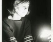 "Vintage Photo ""Channeling the Universe"" Snapshot Old Antique Photo Black & White Photograph Found Paper Ephemera Vernacular - 195"