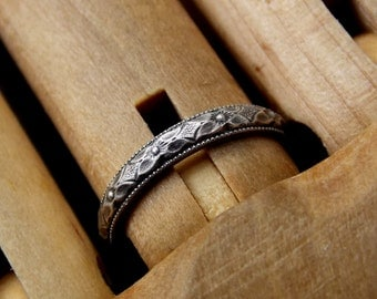 Size 5.25 Camelot Ring, Ready to Ship
