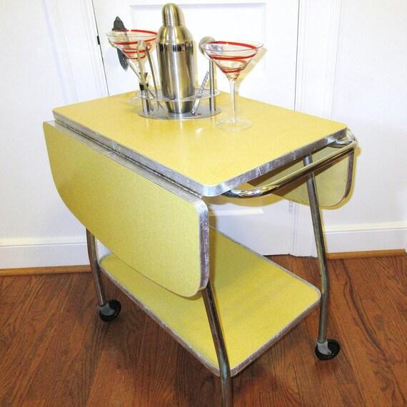cart serving cart buffet table yellow kitchen island cart 2 tier