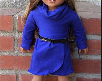 blue tunic dress accesories for 18 inch dolls