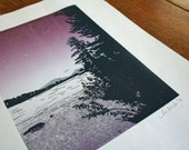 Lake at Sunset, Limited Edition