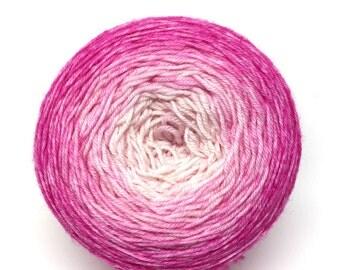 The Barbie Aisle gradient sock yarn