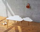 Cloud Coffee Tables - set of two nesting tables