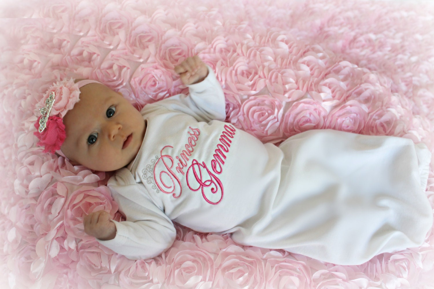 Baby Girl Clothes Personalized Baby Gift Newborn Girl Take