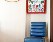 KIT - Wonderland Advent Calendar Panel Kit, The Henley Studio for Andover Fabrics, 100% Cotton Fabric, TP-1466-1