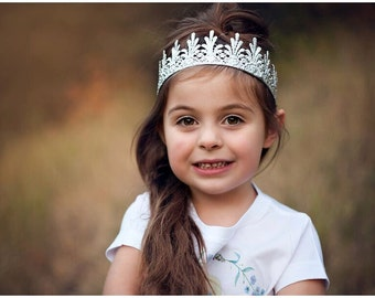 New || Full size Emery lace crown || photography prop || Toddler-Adult || custom sizes || WASHABLE