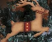 Reindeer ornament, Santa's reindeer, Christmas tree ornament, Metal Christmas ornament,Christmas reindeer,Rudolph