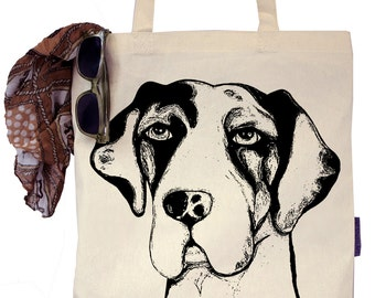 Noel the Great Dane - Eco-Friendly Tote Bag